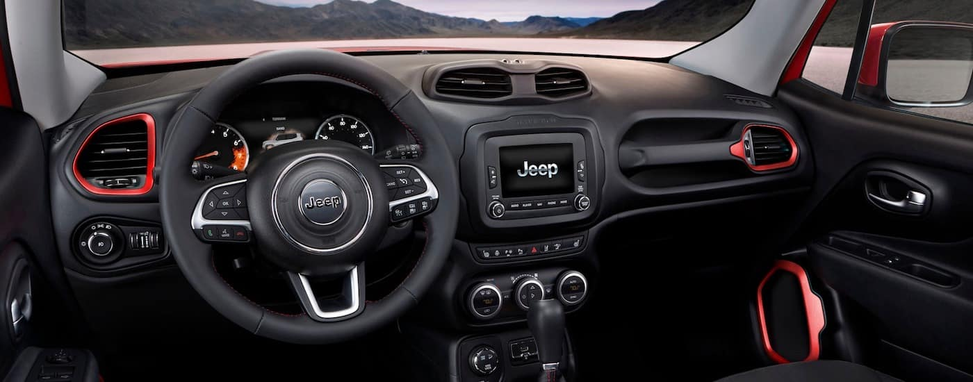 New Jeep Renegade Technology