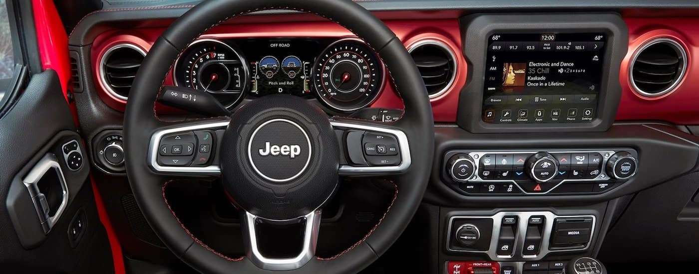 New Jeep Wrangler Features