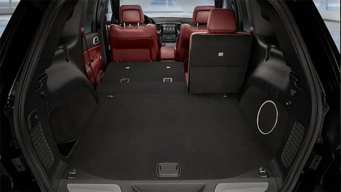 2019 Jeep Grand Cherokee Cargo and Seating Areas