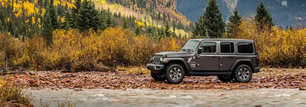 2019 Jeep Wrangler Off-Roading