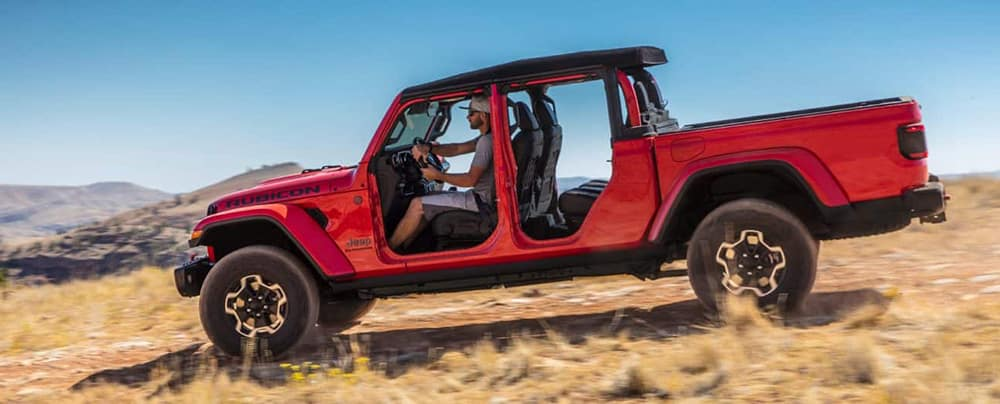 2020 Jeep Gladiator Driving Offroad