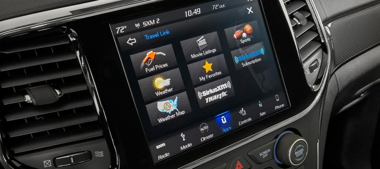 2020 Jeep Grand Cherokee Interior Technology