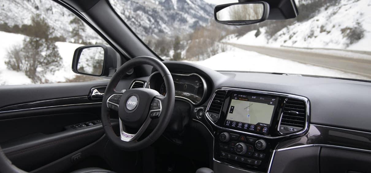 2020 Jeep Grand Cherokee Interior Window View
