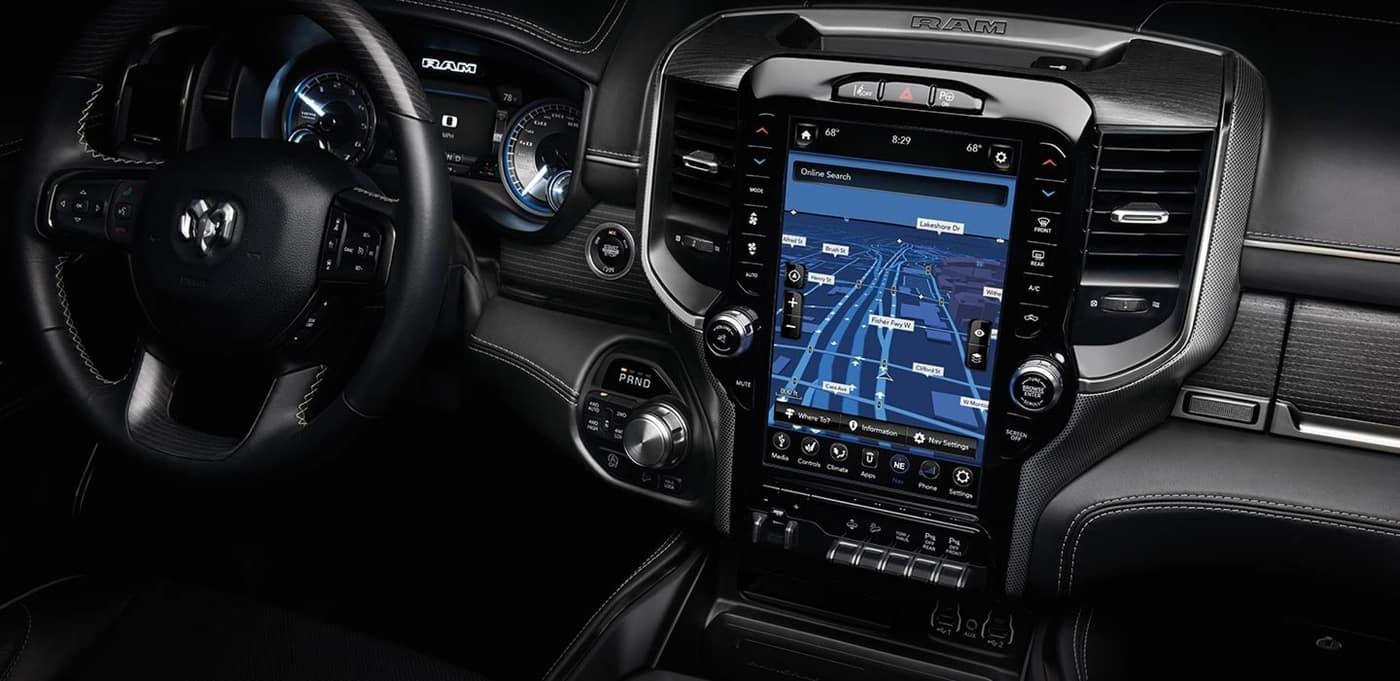 2020 Ram 1500 interior dashboard technology