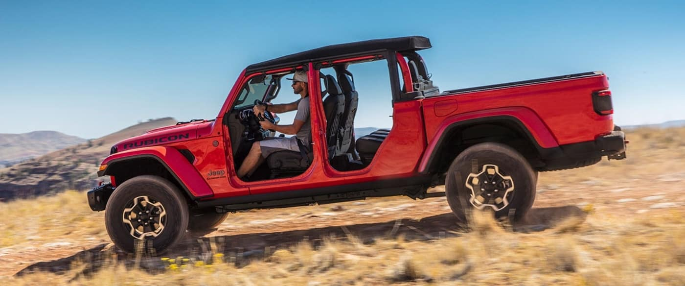 2020 Jeep Gladiator, Red Exterior