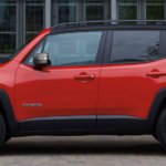 2020 Jeep Renegade Side View