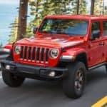 2021 Jeep Wrangler Driving