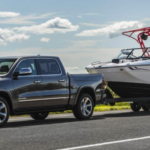 2021 RAM 1500 Towing a Boat