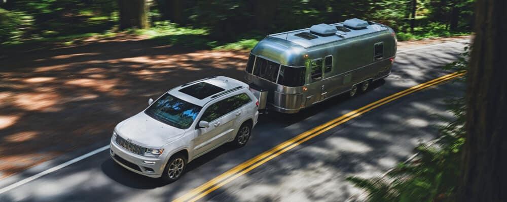 2021 Jeep Grand Cherokee Towing