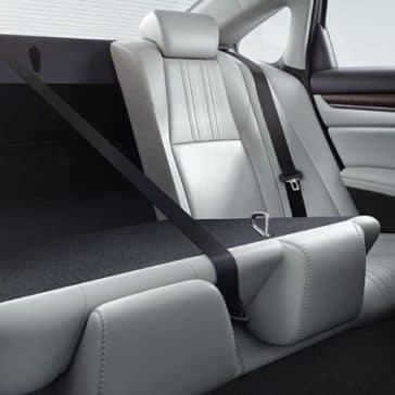 2018 Honda Accord Rear 6040 Split Folding Seat