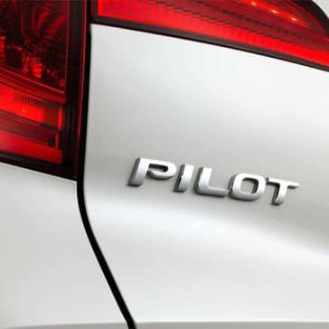 2018 Honda Pilot Rear End Closeup