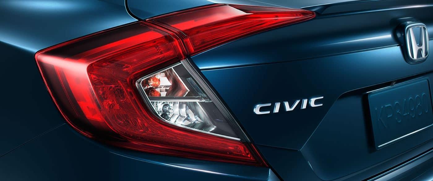 2018 Honda Civic Tail light