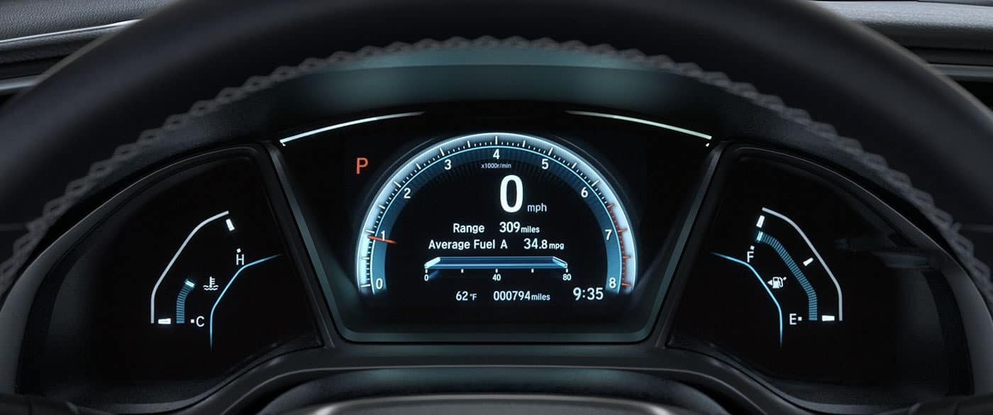 2018 Honda Civic Interior Features