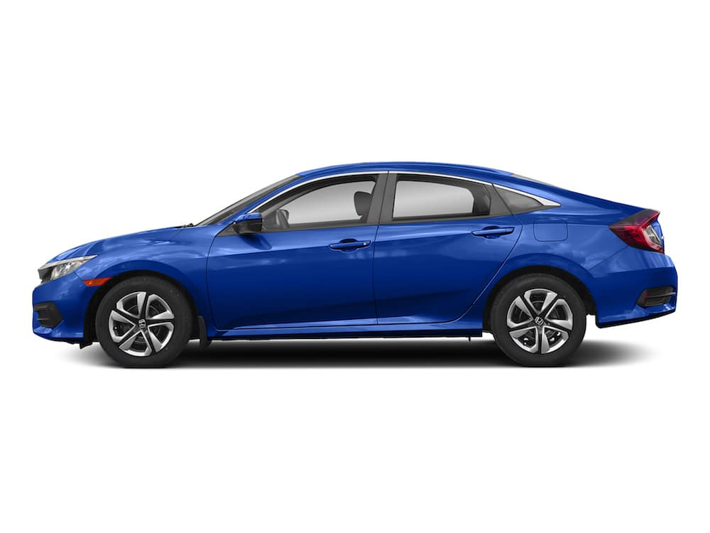 2018 Civic Sedan Continuously Variable Transmission LX