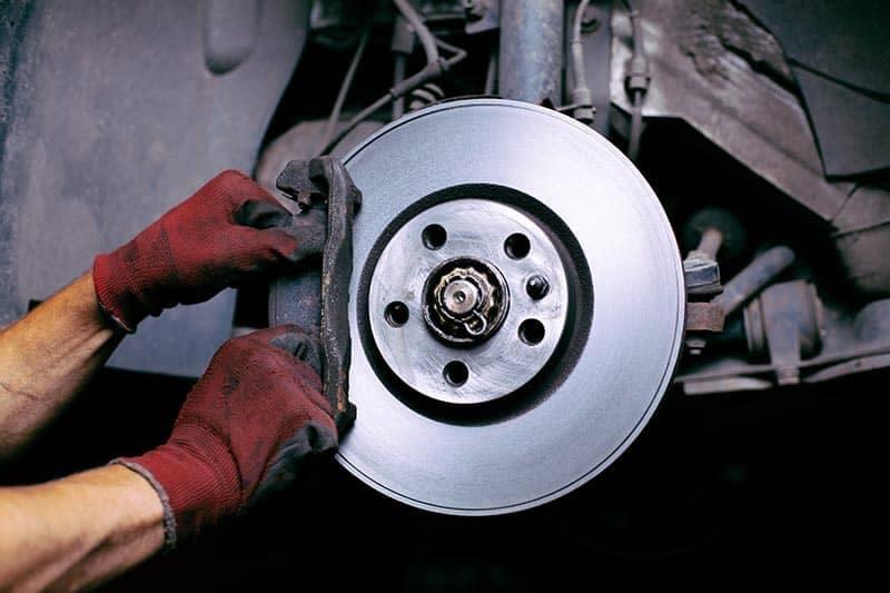 Brake Repair with genuine OEM parts