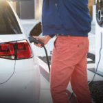 Volkswagen e-Golf EV Charging
