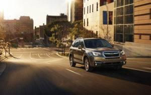 2017 Subaru Forester Driving