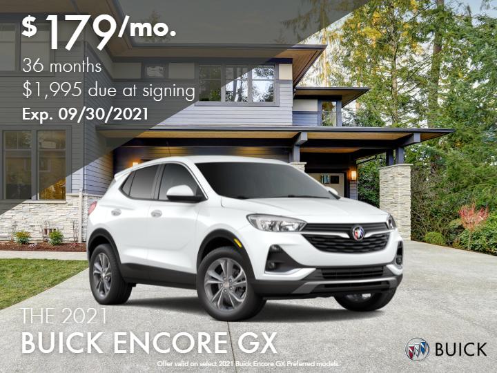 2021 Buick Encore GX Preferred - Demo