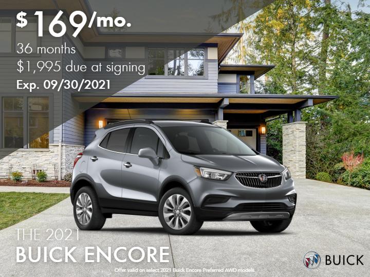 2021 Buick Encore Preferred AWD - Demo