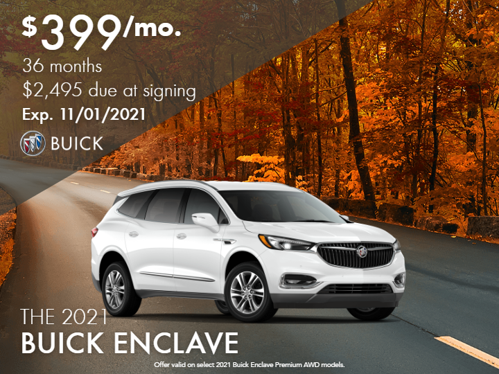 New 2021 Buick Enclave Premium AWD SUV - DEMO