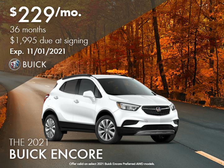 2021 Buick Encore Preferred All Wheel Drive - Demo