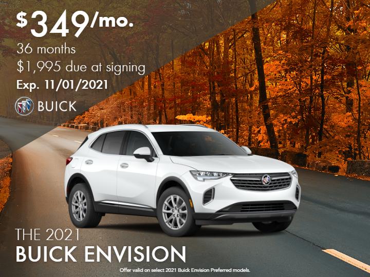 New 2021 Buick Envision Preferred FWD