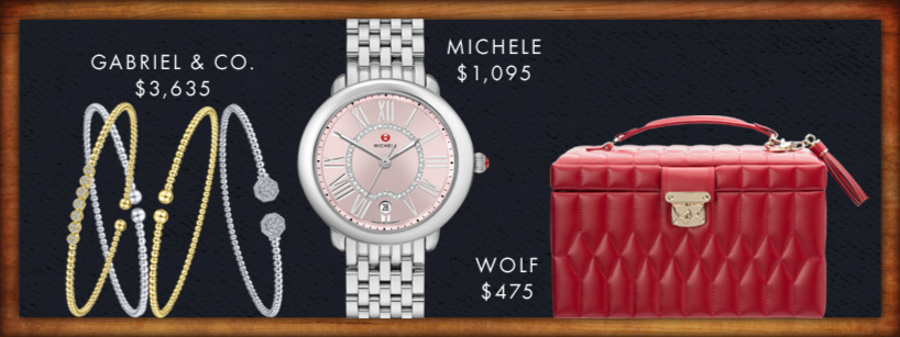 Gabriel and Co. $3635 - Michele $1095 - Wolf $475