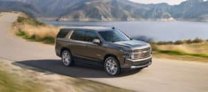 Chevrolet Tahoe High Country Driving in the country