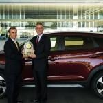 Hyundai Tucson Wins J.D. Power Award