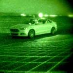 Ford Fusion Autonomous Research Vehicles Use LiDAR Sensor Techno