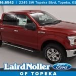 2017 Ford F-150 XLT 302A with Ruby Red Paint and Chrome Appearance Package in Topeka, Kansas