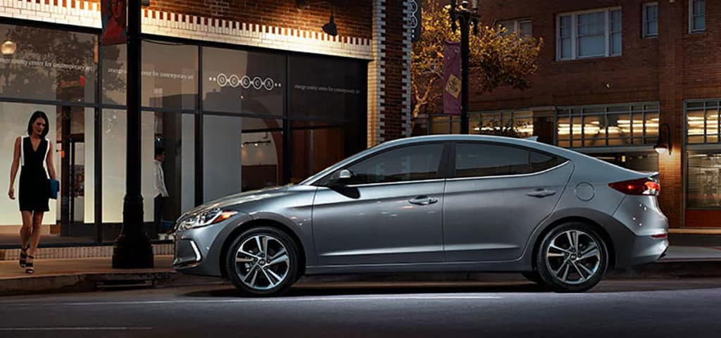 2018 Hyundai Elantra side view