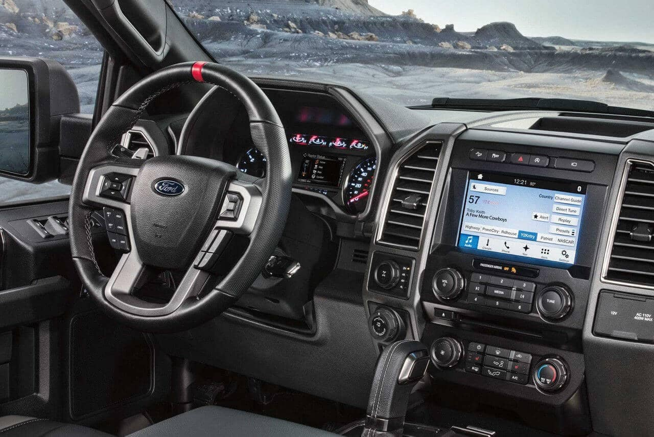 2018 Ford F-150 dashboard