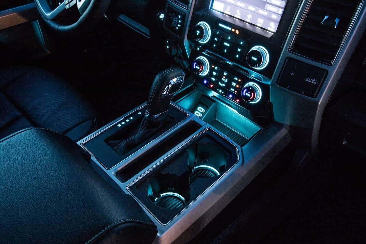 2018 Ford F-150 ambient lighting