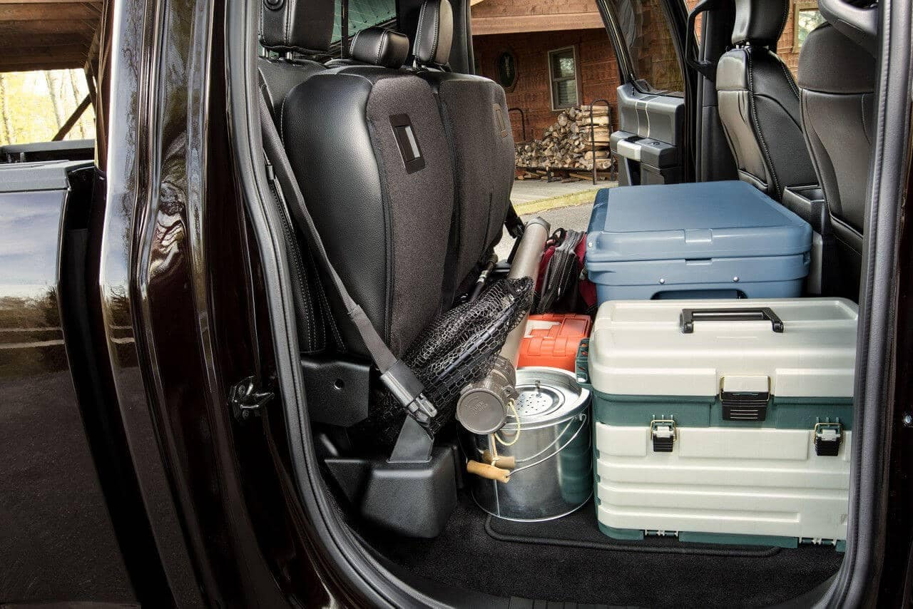 2018 Ford F-150 cargo space