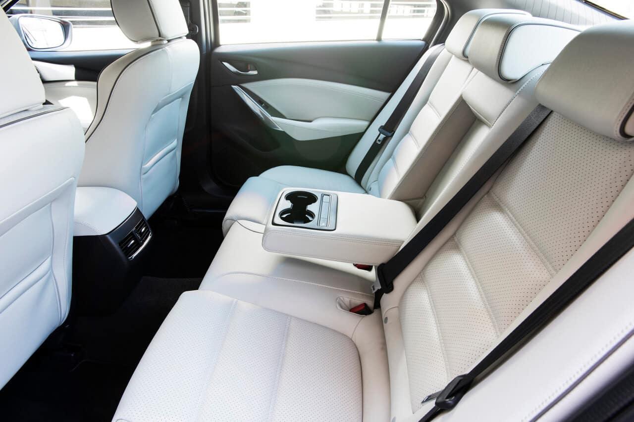 2017 Mazda6 rear interior