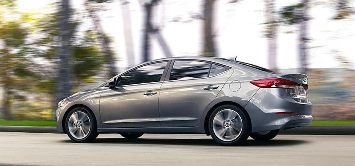 2018 Hyundai Elantra profile view