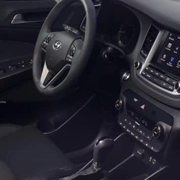 2018 Hyundai Tucson dashboard