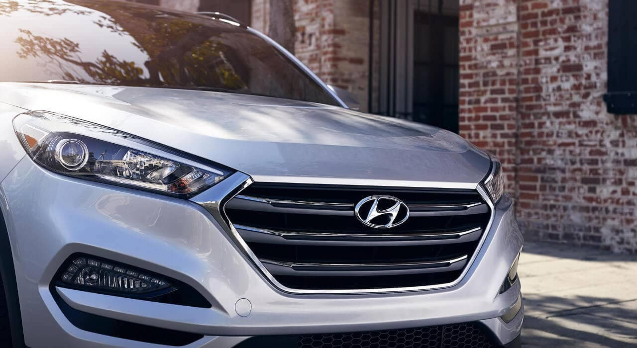 2018 Hyundai Tucson front grille