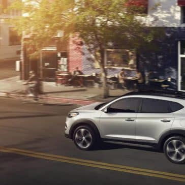 2018 Hyundai Tucson in Molten Silver