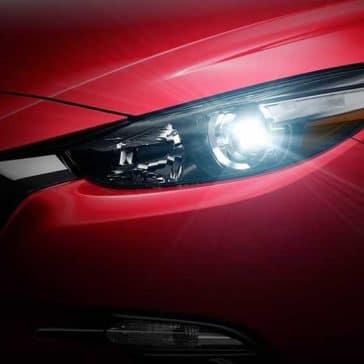 2018 Mazda3 Sedan Headlight