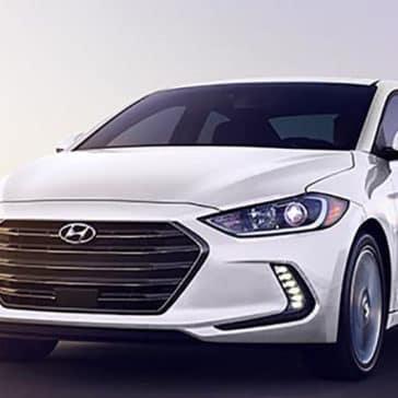 2018 Hyundai Elantra front view
