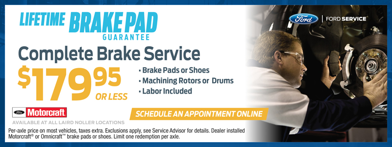 Ford Brake Replacement Specials in Topeka, Kansas