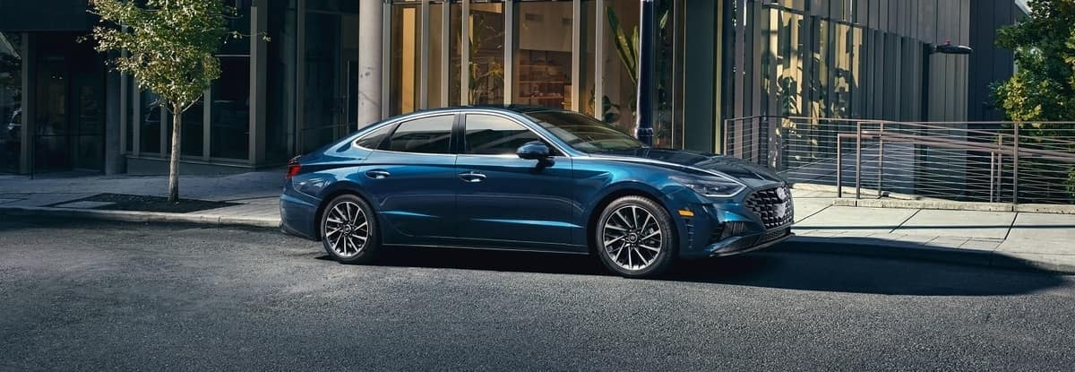 2020 Hyundai Sonata, Blue Exterior