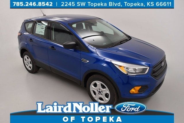 2017 Ford Escape S Trim Level with Lightning Blue paint in Topeka, Kansas