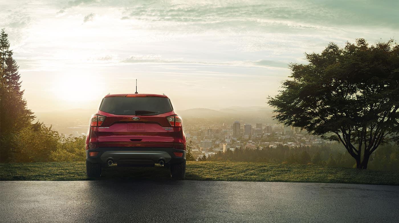 2018 Ford Escape rear exterior
