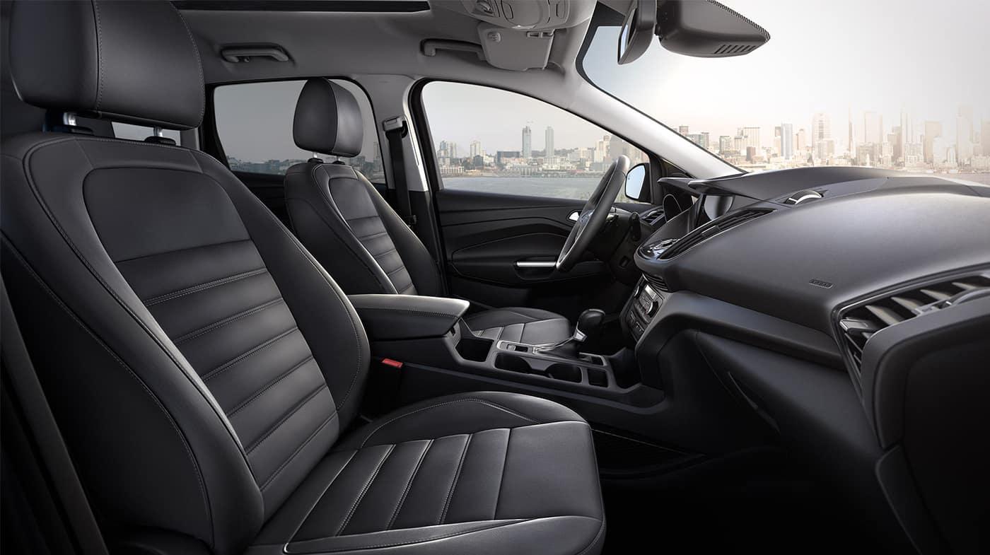 2018 Ford Escape interior cabin