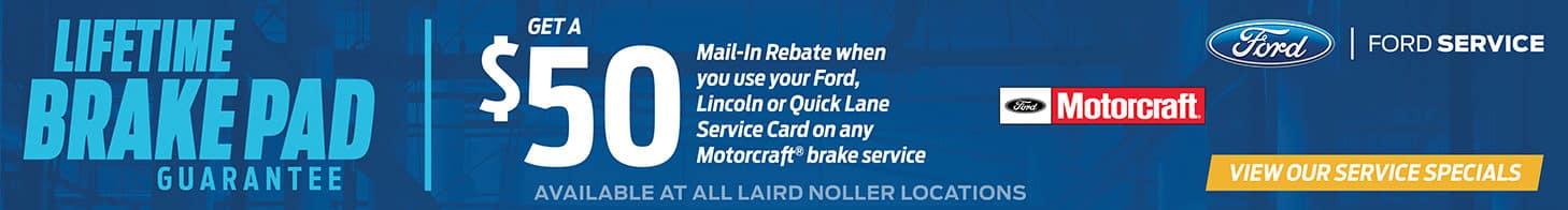 Laird Noller Ford Topeka November Brakes Special