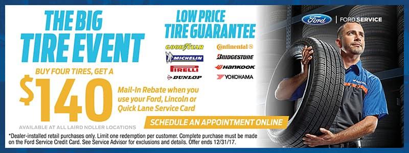 Ford Topeka Tire Sales November 2017