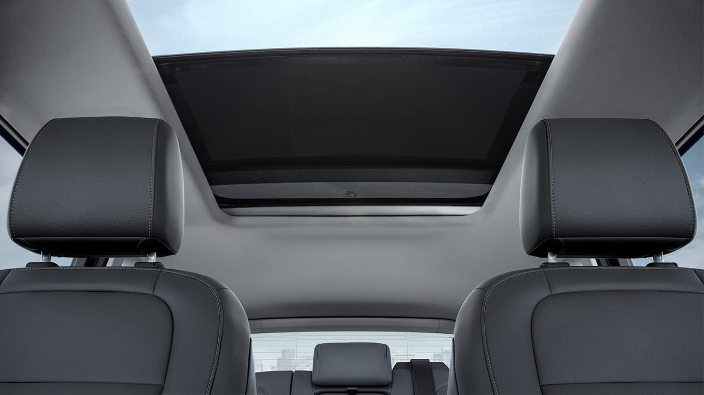 2018 Ford Escape panoramic roof